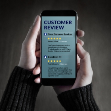 The power of on-line reviews for your business