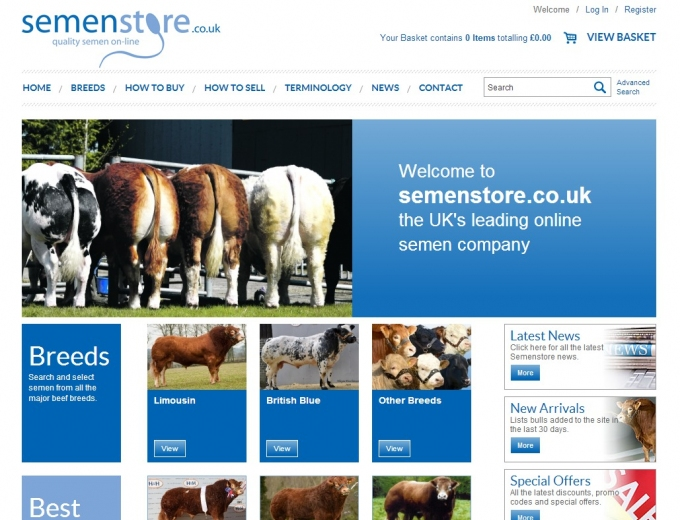 Semen Store For Cows