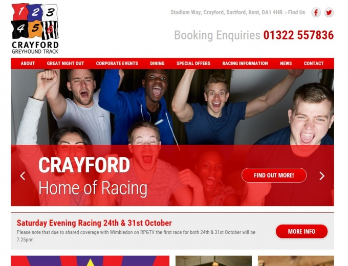 Crayford Greyhound Track
